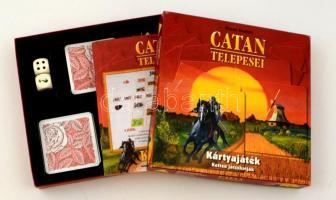 Klaus Teuber: Catan telepesei, kártyajáték 2 főre, eredeti dobozában
