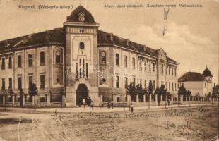 Budapest XIX. Kispest, Wekerle telep, Állami elemi népiskola (fa)