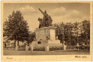 Budapest XIX. Kispest, Hősök szobra