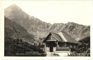 1930 Tátra, Vysoke Tatry; Fehér tó, menház / lake, resthouse, photo