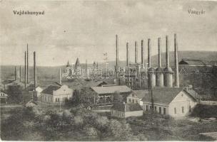 Vajdahunyad, Hunedoara; Vasgyár / iron factory