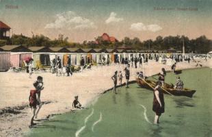 Siófok, Balaton-parti Strandfürdő (vágott / cut)