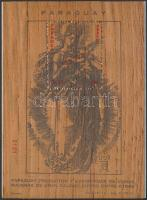 1986 Dürer: Madonna fametszet faanyagra nyomott öntapadós blokk Mi 431
