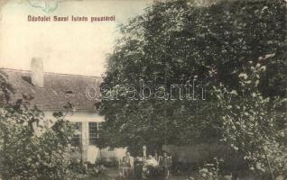 Szentistván-puszta, Stefan; villa / villa (ragasztónyom / glue mark)