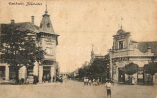 Dombóvár, Jókai utca, László Vilma Zafír kereskedése (fl)