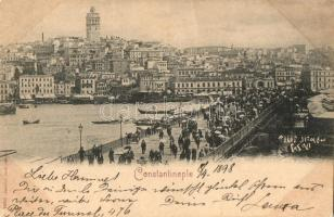 1898 Constantinople, bridge (EK)