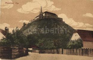 Munkács, Munkacheve; vár, Niedermann dohánytőzsde kiadása / castle (small tear / kis szakadás)