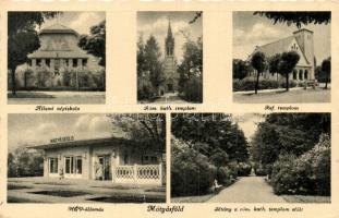 Budapest XVI. Mátyásföld - 2 db RÉGI városképes képeslap / 2 pre-1945 townview postcards