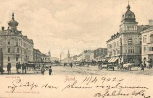 Arad, Andrássy tér, sörcsarnok / square, beer hall (EK)