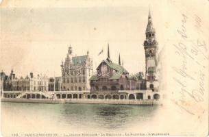 1900 Paris, Exposition Universelle, La Grand Bretagne, Belgique, Norwege, Allemagne (EK)