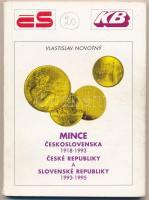 Vlastislav Novotný: Mince československa 1918-1993 - České Republiky a Slovenské Republiky 1993-1995. Csehszlovák pénzérme katalógus. Hodonín, 1995. Használt, de jó állapotú.