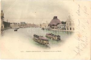 1900 Paris, Exposition Universelle, Sur la Seine