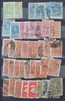Szovjet többpéldányos forgalmi bélyeg tétel 6 lapos kis berakóban