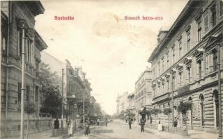 Szabadka, Subotica; Kossuth Lajos utca, kiadja Lipsitz / street (fl)