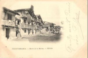Hondarribia, Fuenterrabía; Barrio de la Marina