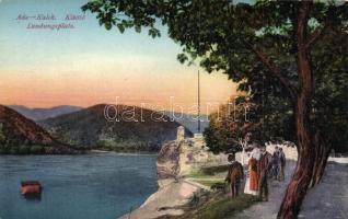 Ada Kaleh, Kikötő / port