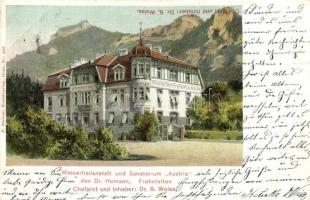Frohnleiten, Wasserheilanstalt und Sanatorium Austria / spa (EK)