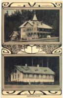 Kirchschlag, Villa Lutringshausen and Heitzmann, Art Nouveau (EK)