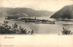 Ada Kaleh, Látkép, kiadja G. Hutterer / general view