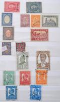 Bulgária néhány száz régi és modern bélyeg 12 lapos közepes berakóban
