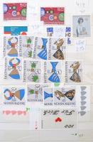 Liechtenstein, görög, spanyol valamint egyéb európai bélyegek 12 lapos közepes berakóban