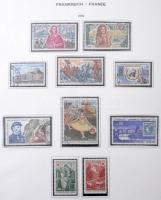 Francia gyűjtemény 1970-1979 fénymásolt albumlapokon filázva gyűrűs borítóban