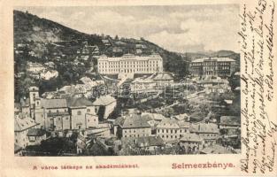 Selmecbánya, Banska Stiavnica; akadémiák / academies
