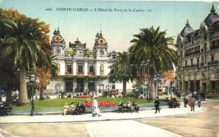 Monte Carlo - 2 old postcards