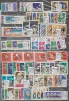 Szovjetunió tétel 40 db sor, 5 db bélyeg 1 db nagyalakú berakólapon (Mi EUR 145,20)