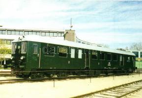 20 db MODERN használatlan külföldi villamosos motívumlap / 20 modern unused European trams, motive cards