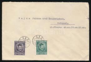 1936 Levél Pázmány 6f + 16f bérmentesítéssel