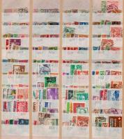 Svájc tétel, benne 1.170 db klf bélyeg 7 db berakólapon