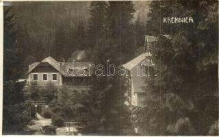 1926 Körmöcbánya, Kremnica; Erholungsheim / szálló, automobil / rest house, automobile, photo (EK)