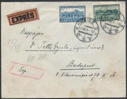 1929 Expressz levél KOSICE - Budapest
