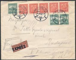 1929 Expressz levél PRAHA - Budapest
