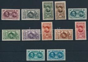 1922-1927 4 klf sor Mi 286-319 (**Mi EUR 90,-)