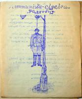 1919 A Nebuló c. stencilezett kis példányszámú lap egy (egyetlen) száma