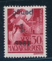 Nagyvárad (I) 1945 Szent Margit 1P/30f fordított felülnyomással, garancia nélkül (35.000)