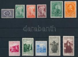 1930-1931 2 sor és 2 bélyeg (**Mi EUR 119,5-)
