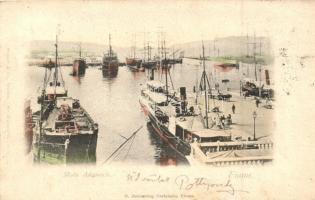 1899 Fiume, Molo Adamich