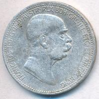 Ausztria 1908. 1K Ag Ferenc József - Jubileum T:2,2- Austria 1908. 1 Corona Ag Franz Joseph - Jubilee C:XF,VF Krause KM#2808