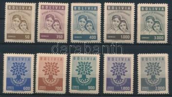 1960 Menekültügy sor Mi 606-615