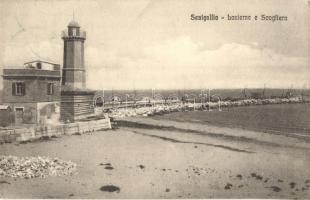 Senigallia, Lanterna e Scogliera / lighthouse
