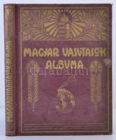 Rákosi Jenő, et al.: Magyar vasutasok albuma. Bp., 1927, Apostol-nyomda. Kiadói díszes egészvászonkötésben, kissé kopottas borítóval, kissebb sérüléssel a borítón, fekete-fehér fotókkal.