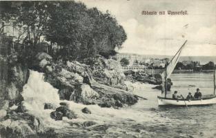 Abbazia, Wasserfall / waterfall