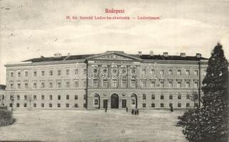 Budapest VIII. Magyar Királyi Honvéd Ludovika Akadémia