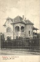 Budapest II. Villa a Levél utca 8. szám alatt