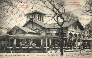 Budapest XIII. Margitszigeti Alsó vendéglő (fa)