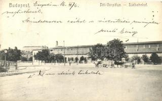Budapest I. Déli vaspálya, vasútállomás