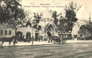 Budapest XIV. Állatkerti főbejárat